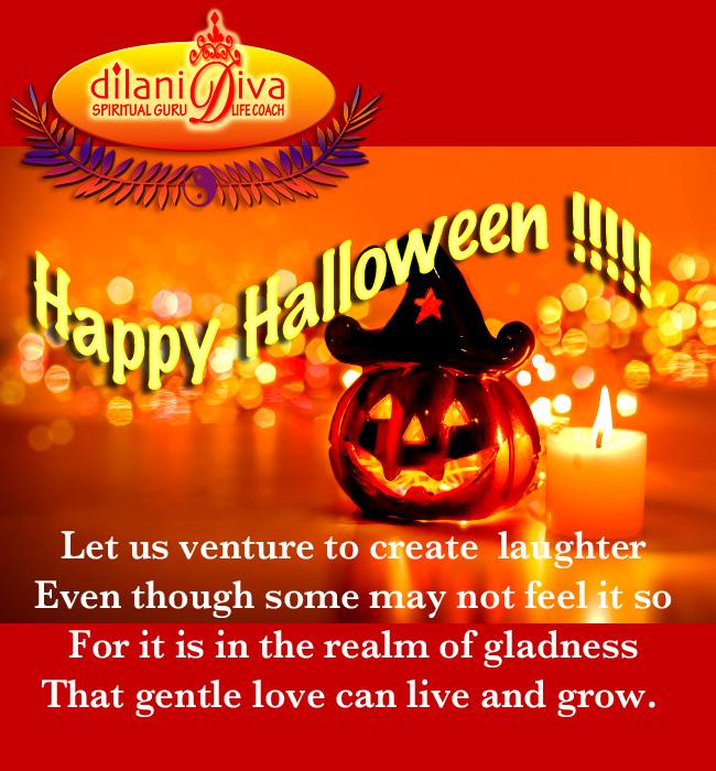 Dilani Diva Happy Halloween.