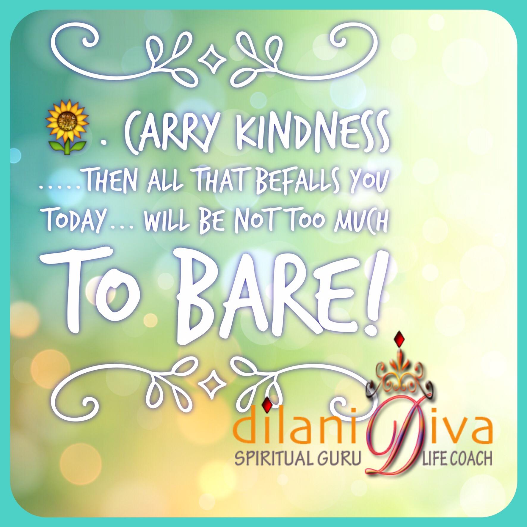 Carry Kindness